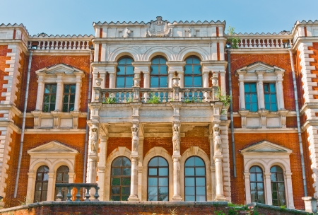 Facade of Ancient Palace, Moscow region, Russia, East Europe Stock Photo - 13893869