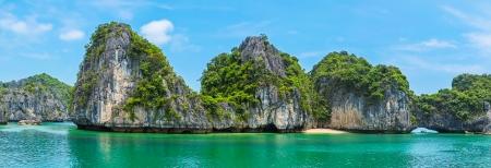 ハロン湾、ベトナム、東南アジアの美しいパノラマ