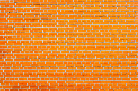 brick walls: Red brick wall for background and texture