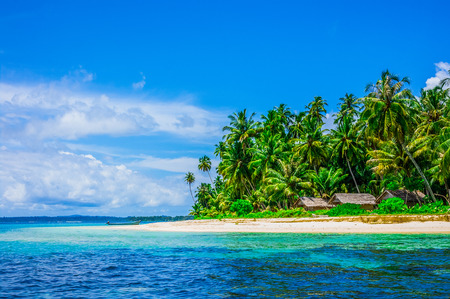 Tropical island landscape, Banyak Archipelago, Indonesia, Southeast Asia