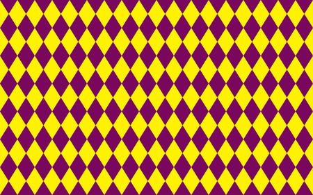 purple pattern: Abstract geometric seamless pattern of rhombus in purple and yellow colors Illustration