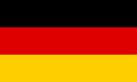 proportions: German flag in correct proportions and colors Illustration