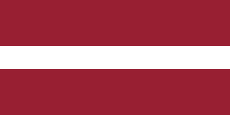 proportions: Latvian flag in correct proportions and colors