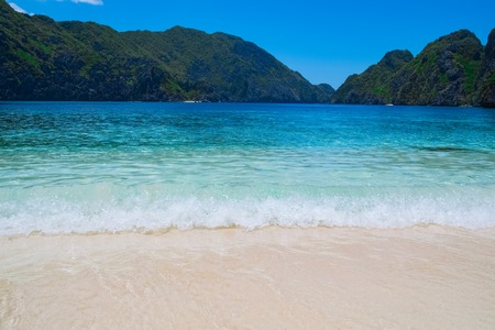 Beautiful tropical beach, Palawan, Philippines, Southeast Asia