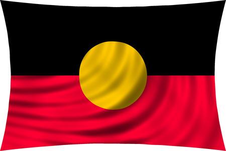 Flag Of Australian Aboriginal Stock Photos Pictures Royalty Free