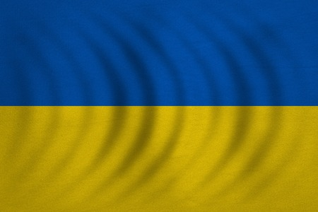 Ukrainian National Official Flag Patriotic Symbol Banner Element