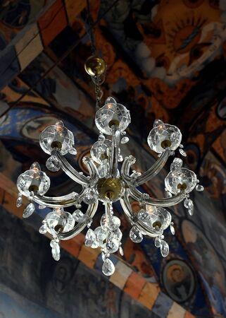 Amazing polilei in a orthodox church