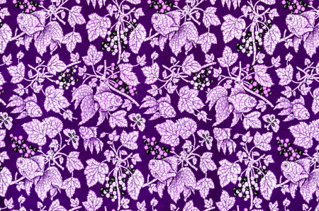 Kleurrijke batik doek stof Stockfoto