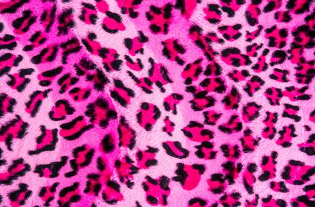 Textuur van leopard gestreepte stof voor de achtergrond