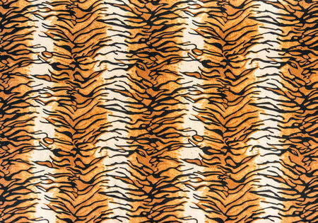 texture of tiger leather for background photo