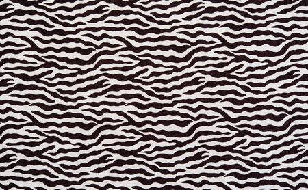 texture of fabric stripes zebra for background