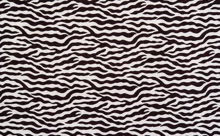 textuur van stof strepen Zebra voor achtergrond