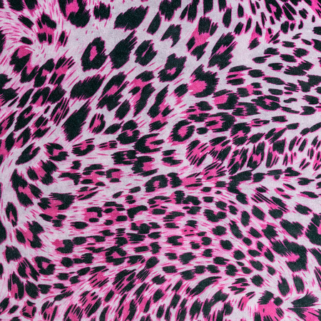 texture of fabric stripes leopard for background