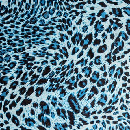 De textuur van de stof strepen luipaard voor achtergrond