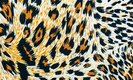 mottle: The texture of leopard leather for background