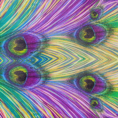 mottle: trama del tessuto a righe pavone per sfondo Archivio Fotografico