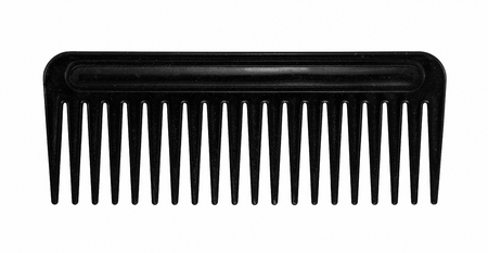black hair comb  isolated on white background Фото со стока - 31561035