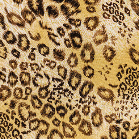 texture of fabric striped leopard for background photo