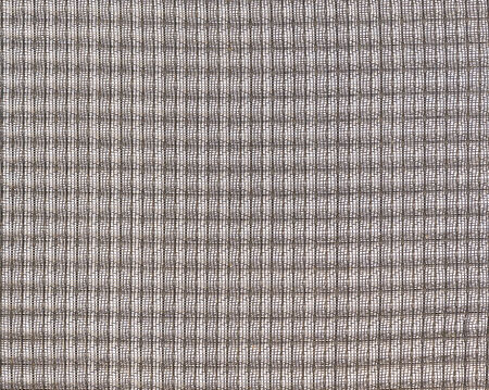 wire mesh: metal sieve wire mesh at linkage on white background Stock Photo