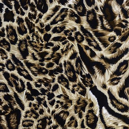Texture de léopard rayé de tissu imprimé pour le fond Banque d'images - 33457267