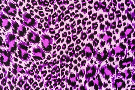 textuur van drukken stof strepen luipaard voor achtergrond