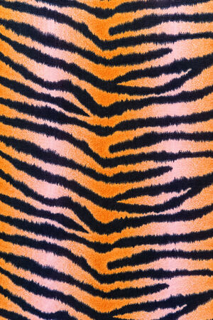 textuur van print stof strepen tijger voor achtergrond