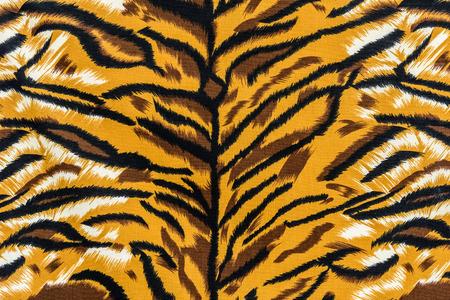 Texture de tigre rayé de tissu imprimé pour le fond Banque d'images - 34649327