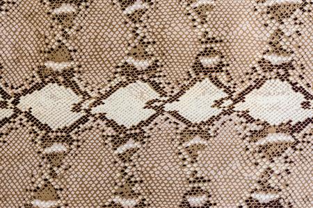 textuur van stof gestreepte slang leer voor achtergrond