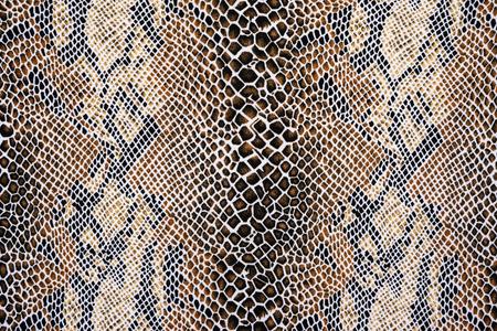 textuur van stof gestreepte slangenleer voor achtergrond Stockfoto