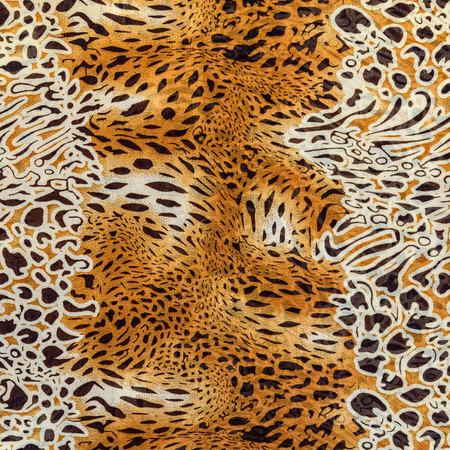 textuur van drukken stof gestreepte luipaard voor achtergrond Stockfoto