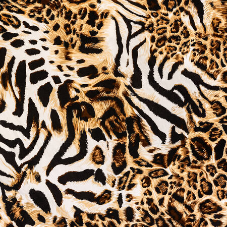 zebra stripes: texture of print fabric stripes leopard for background
