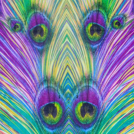 mottle: trama del tessuto a strisce Stampa pavone per lo sfondo