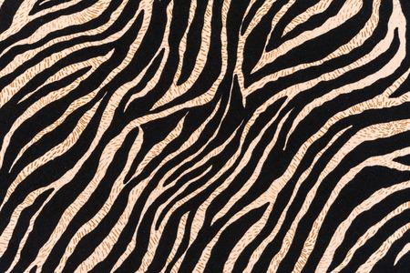 Texture de tissu imprimé zèbre pour le fond rayé Banque d'images - 35956294