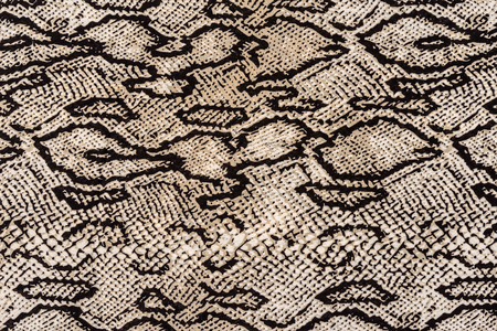 snake texture: texture of print fabric striped snake leather for background
