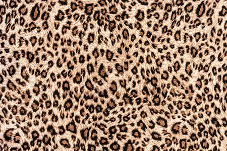 texture of print fabric striped leopard for background Reklamní fotografie - 37005401