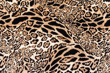 Texture de léopard rayé de tissu imprimé pour le fond Banque d'images - 36966017