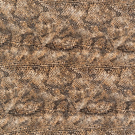 texture of print fabric stripes snake leather for background photo