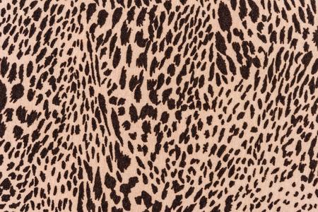 Texture de léopard rayé de tissu imprimé pour le fond Banque d'images - 41737880