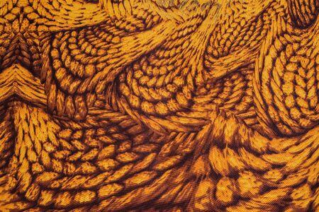 mottle: trama di piume tessuto stampa a strisce per lo sfondo Archivio Fotografico