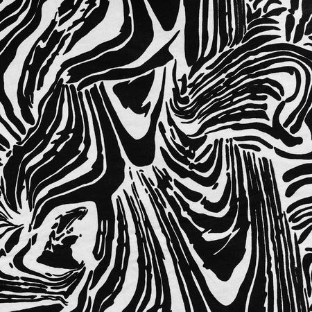 spot: texture of print fabric striped zebra for background