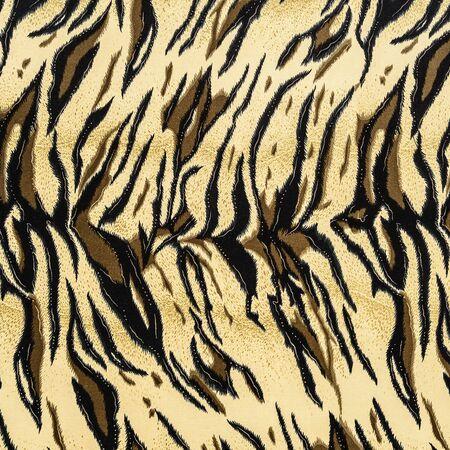 Texture de tigre rayé de tissu imprimé pour le fond Banque d'images - 43546260