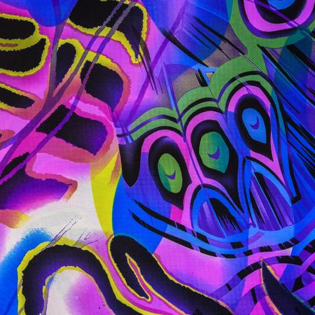 pavo real: textura de plumas de pavo real de impresi�n de tela a rayas para el fondo