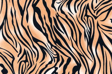 textuur van print weefsel gestreepte tijger en zebra voor achtergrond