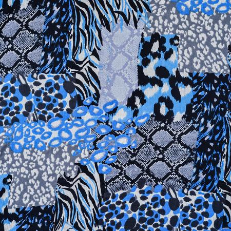 Texture de tissu imprimé léopard rayé et le cuir de serpent pour le fond Banque d'images - 44551169
