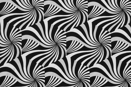 curved: texture of print fabric striped zebra for background