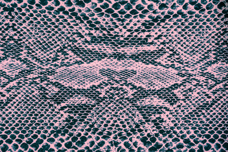 piel: textura de la tela de la impresi�n de cuero de serpiente de rayas para el fondo Foto de archivo