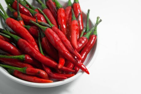 nutrient: Red Chilli - Raw nutrient from nature Stock Photo