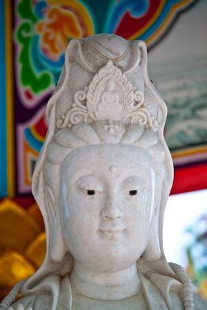 unruffled: Kindness - (Abstract) - Guan Yin shrine - Ayutthaya ,Thailand