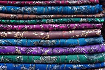 thai silk: Thai Sarong Silk  fabric