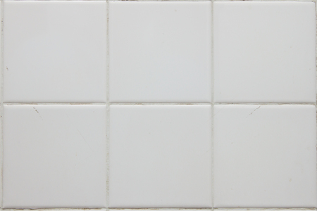 white tile: close up white tile floor background